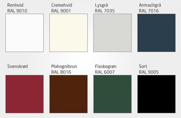 Sensationelle Farver til dine vinduer - forskellige ude og inde - læs mere her EL22